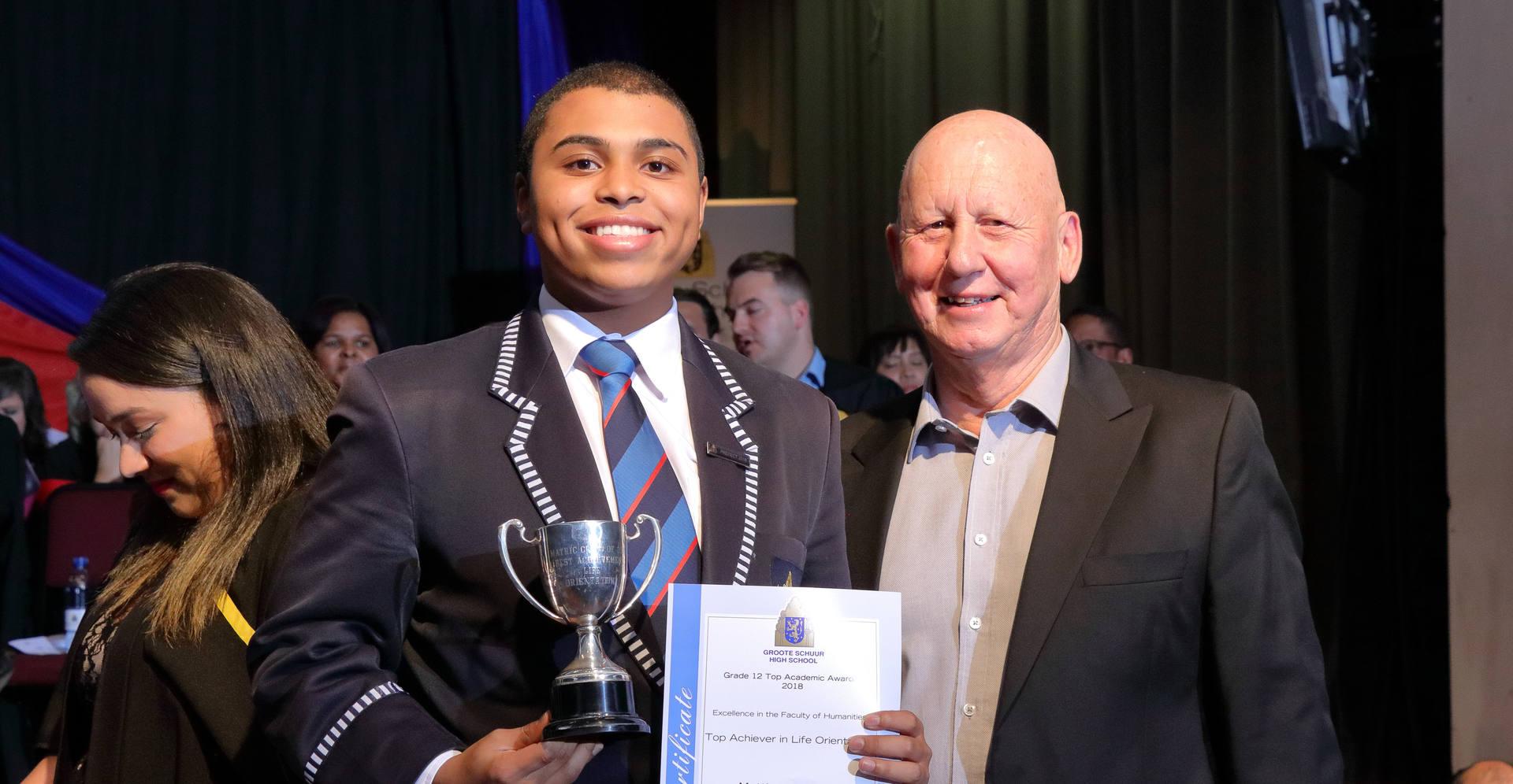 _M Gallant - Award for Academic Excellen