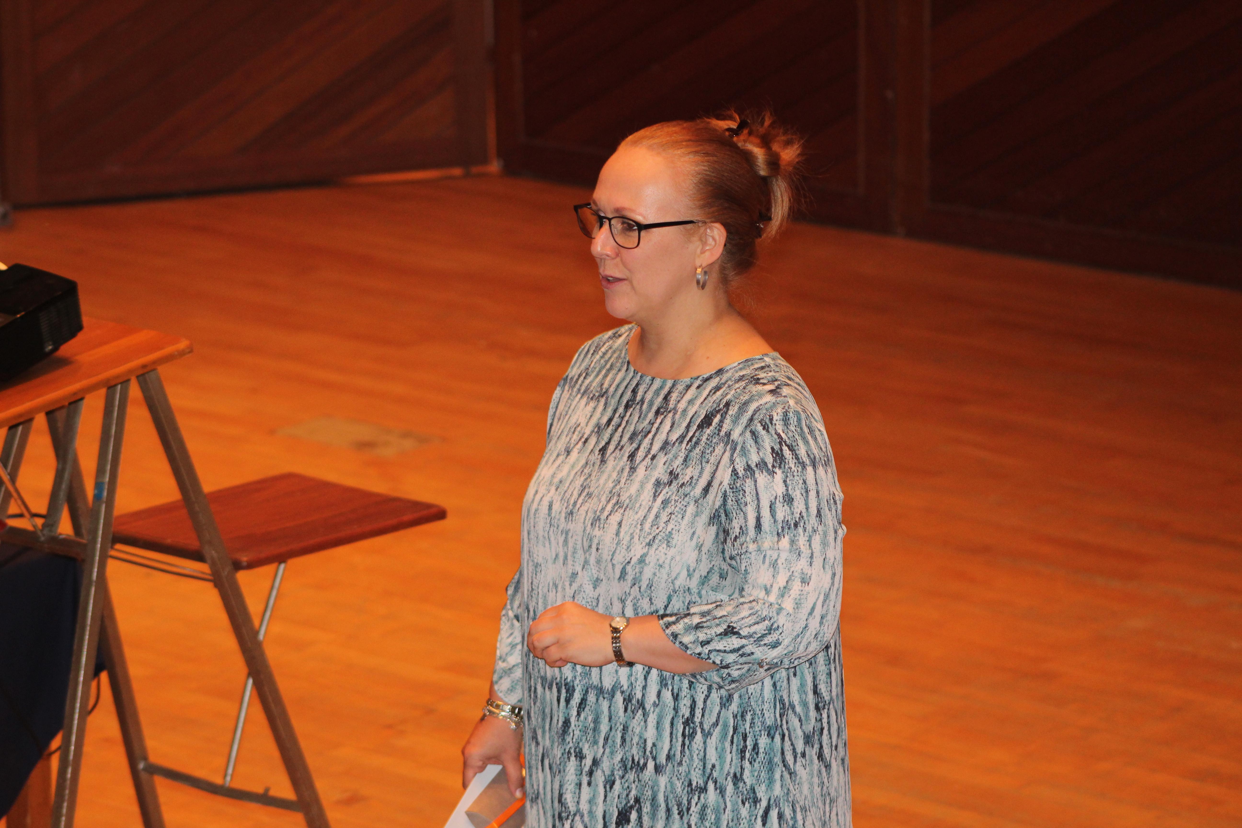Deputy Principal Ms M Coetzee
