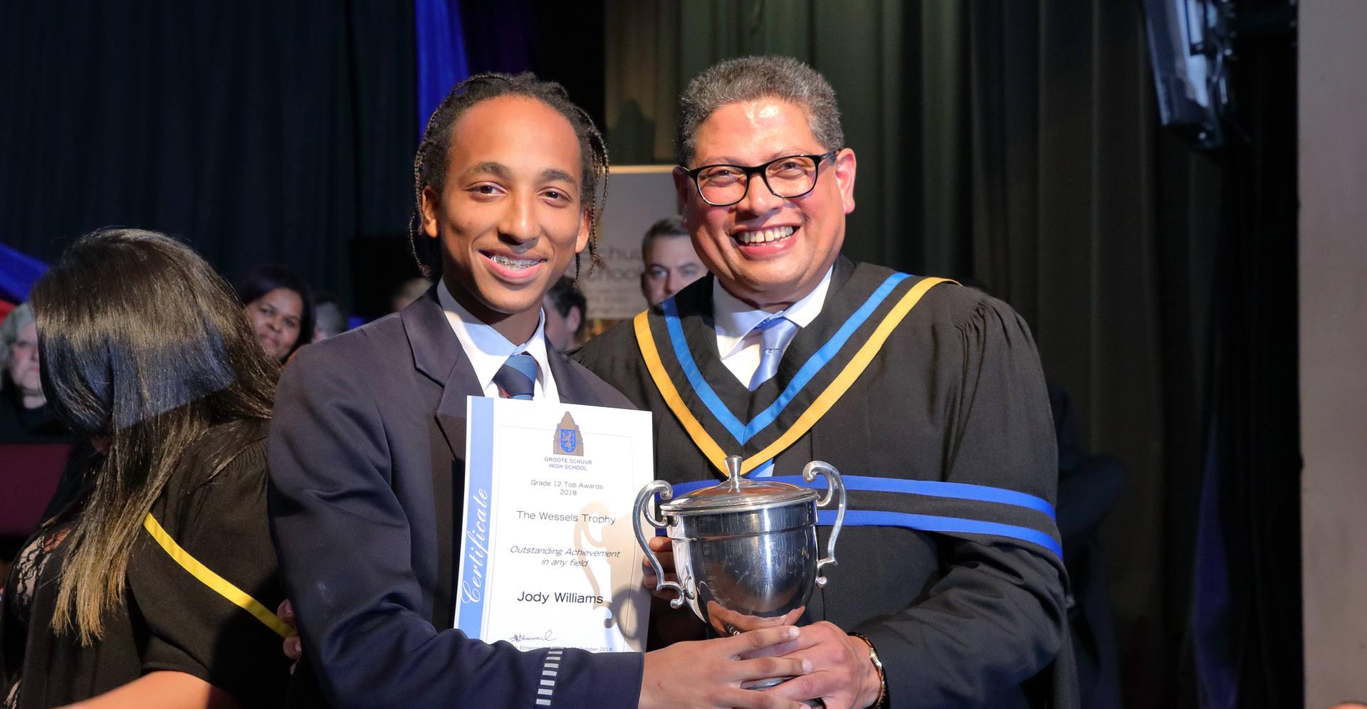 J Williams Wessels Trophy for Outstandin