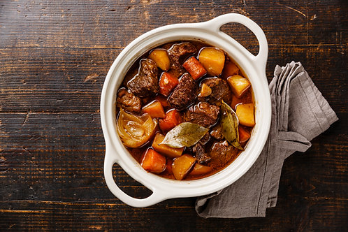 Home Comfort Beef Stew (sizes available)