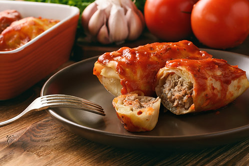 Cabbage rolls (sizes available)