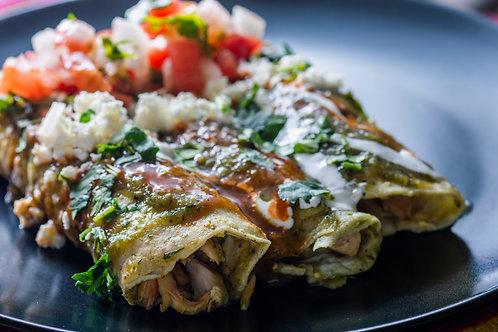 Enchiladas (sizes available)