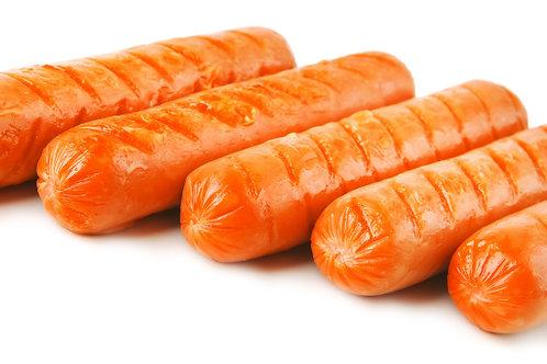 Jumbo hot dog (6 pack - 1 lb)
