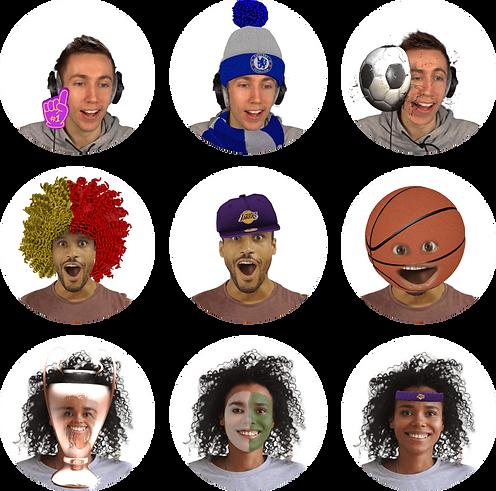 HeadsApp Sport Filters