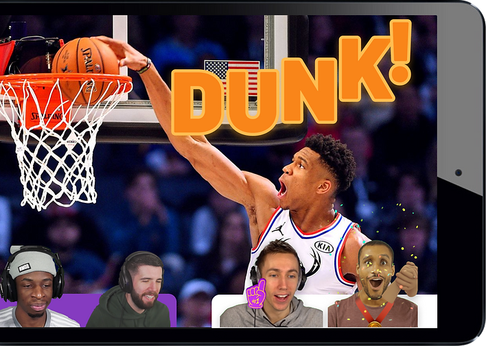 Slam dunk watch party
