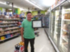 Luis Guerrero of Pimentel Market