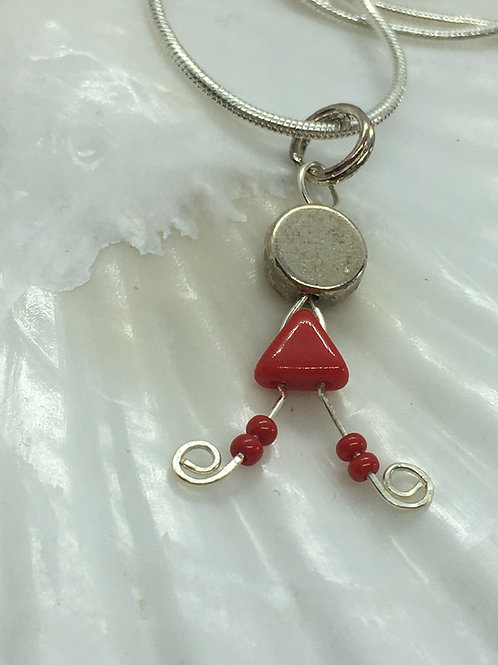 Lady Red Pendant