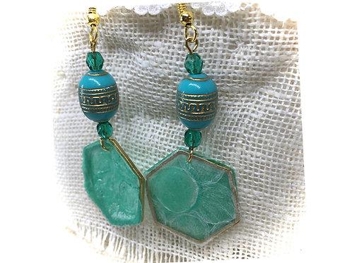 Bubblewrap & Plastic Bags Earrings