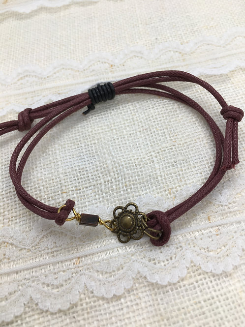 Daisy Slider Bracelet