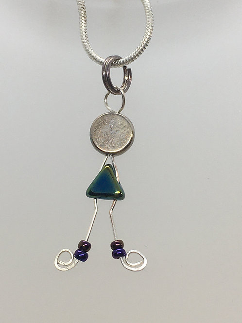 Lady Peacock Pendant