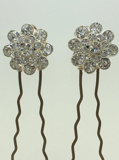 Flora hair pins