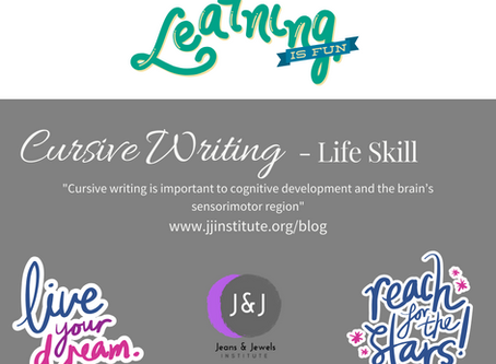 Learning is Fun - Cursive Writing