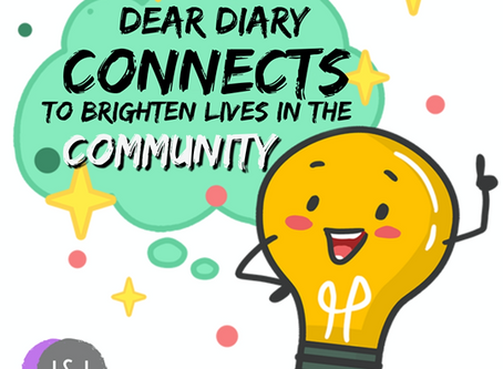 Dear Diary Connects to Brighten the Lives in the Community