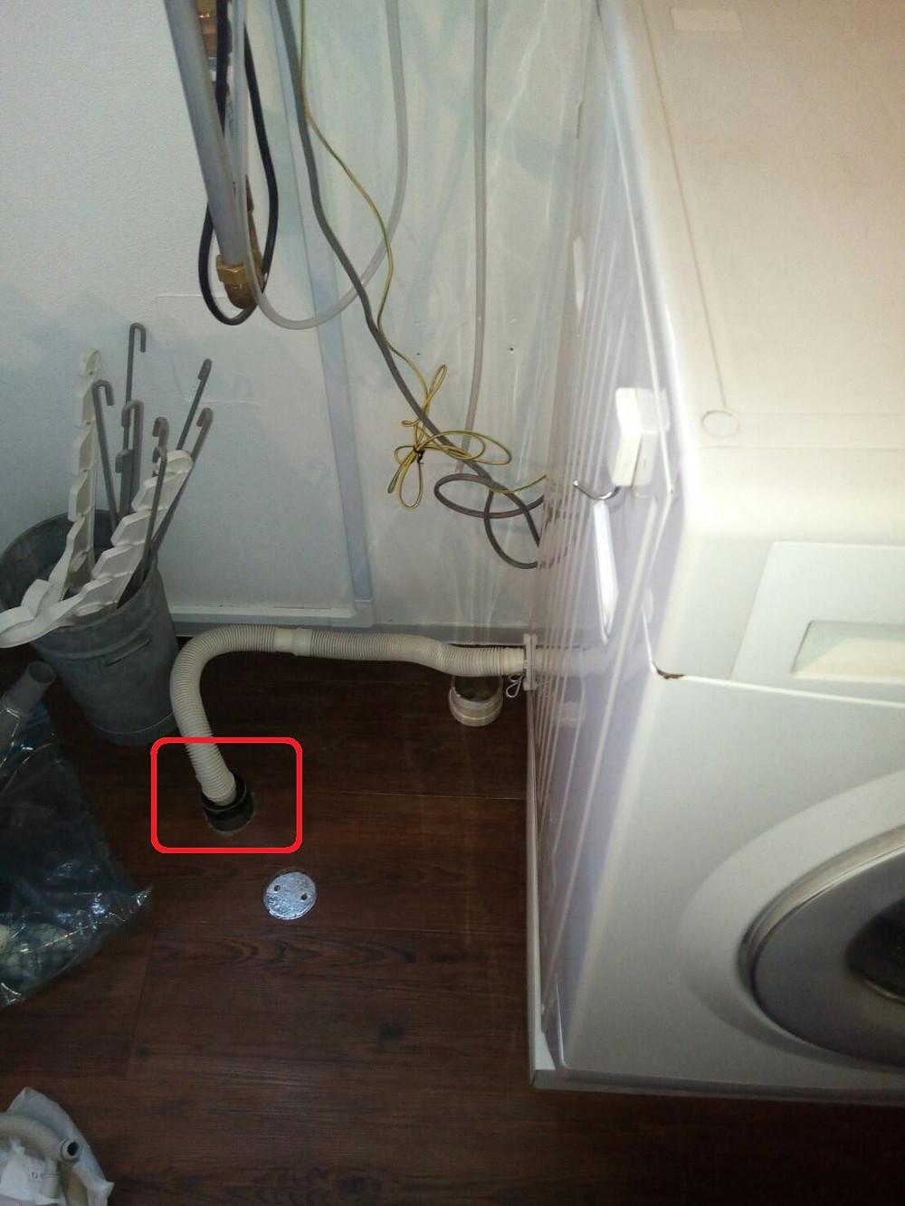 新宿区 ドラム式洗濯機 取り付け