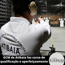 GCM de Atibaia faz curso de qualificação e aperfeiçoamento