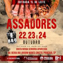 """Festival de Churrasco """"Assadores BBQ"""" é atração em Piracaia no fim de semana"""