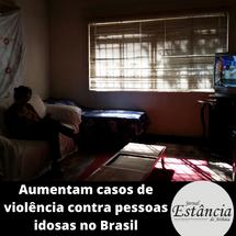 Aumentam casos de violência contra pessoas idosas no Brasil