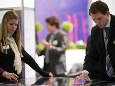 CeBIT-Stand präsentiert IT-Lösungen aus Niedersachsen