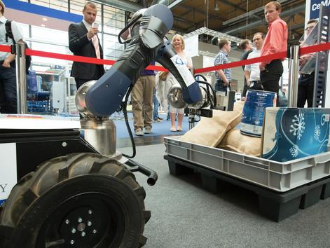 "CeMAT 2014 – Sonderschau ""Innovative Logistiklösungen"""