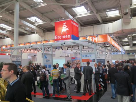 Bremer Gemeinschaftsstand mit Innovationsforum auf der CeBIT