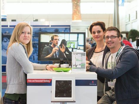 Hamburg auch 2015 auf der CeBIT