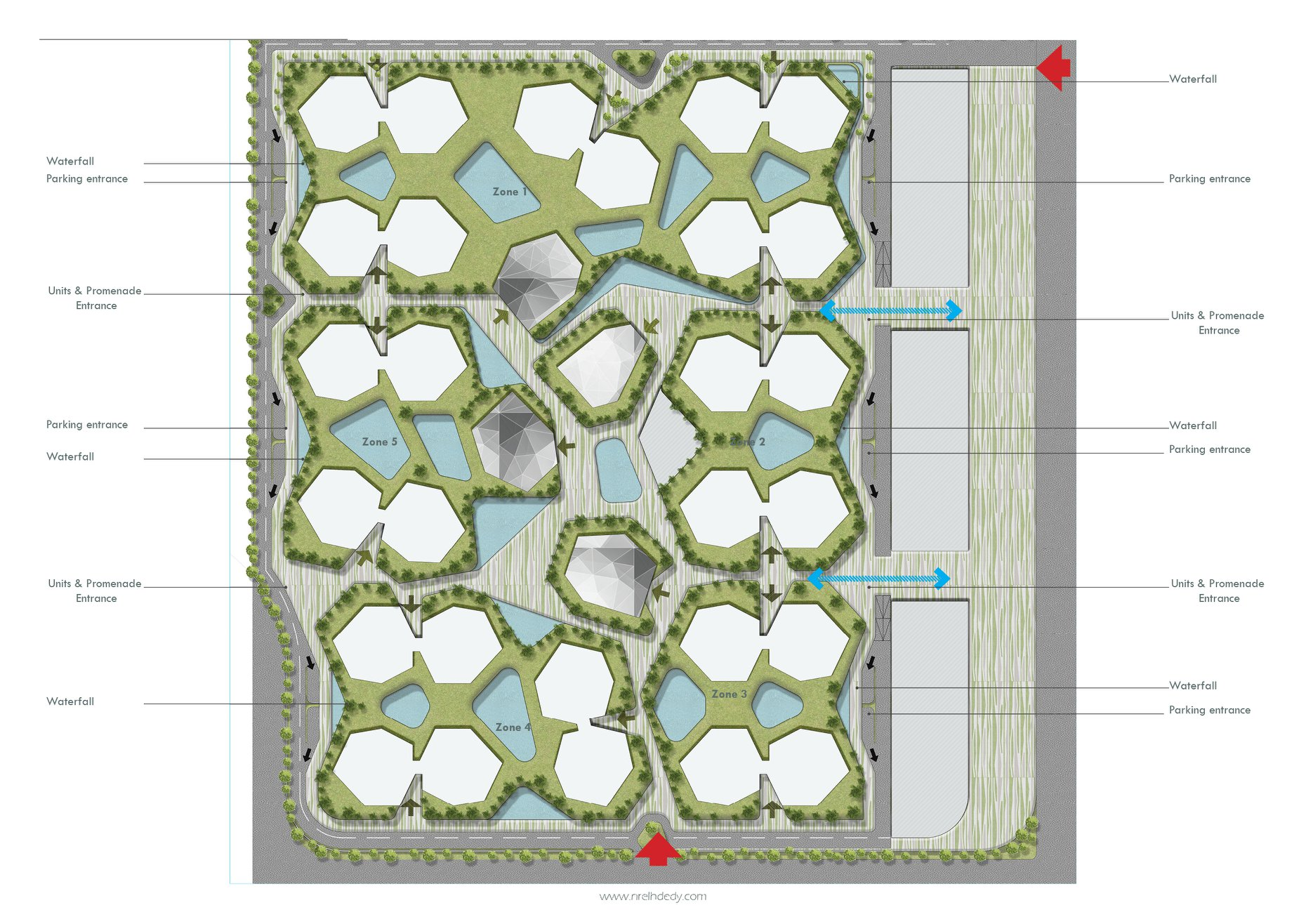 Crystal City layout