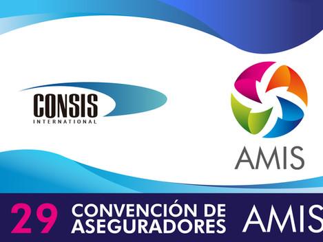CONSIS estará presente en la 29° Convención de Aseguradores AMIS