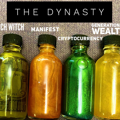 The Dynasty ( money manifesting oils)