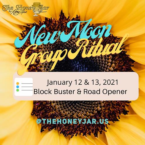 New Moon: BlockBuster & Road Opener Ritual