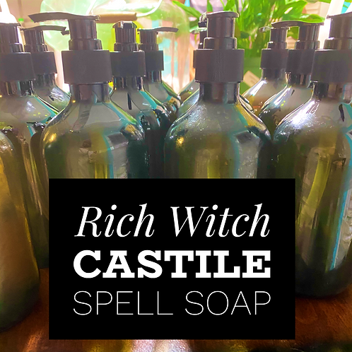 Rich Witch Castile Spell Soap