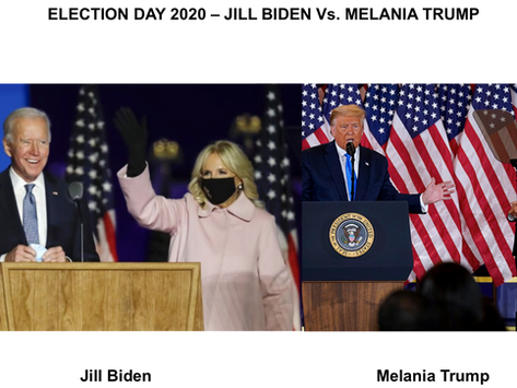 Melania Trump and Jill Biden - Election Day Body Language Analysis