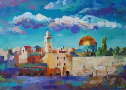 Ekaterina Khazina jerusalem