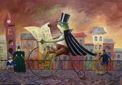 Ekaterina Khazina frog