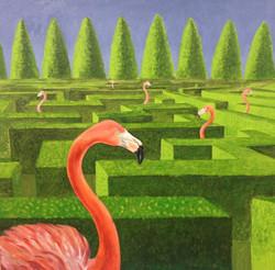 Ekaterina Khazina labirint flamingo
