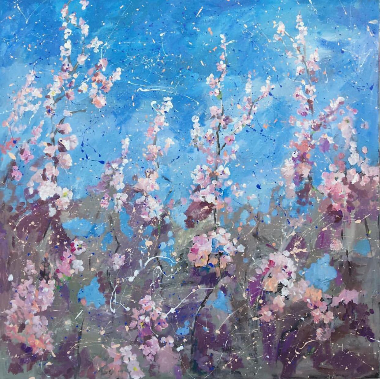 Ekaterina Khazina almond flowers