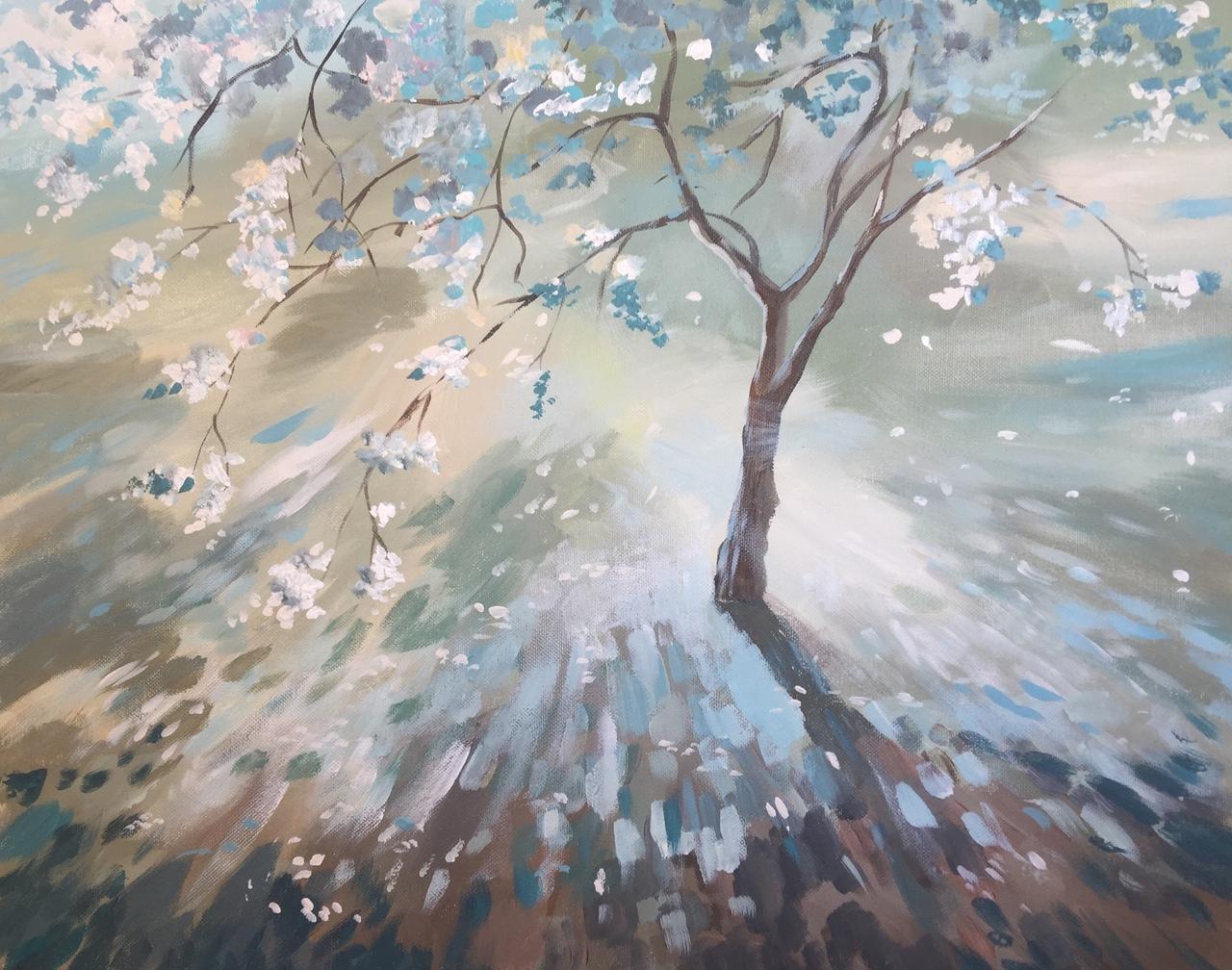 Ekaterina Khazina almond tree