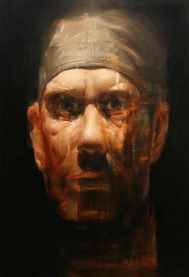 Modern Impressionist Retrato
