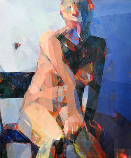 Seated Nude no 3