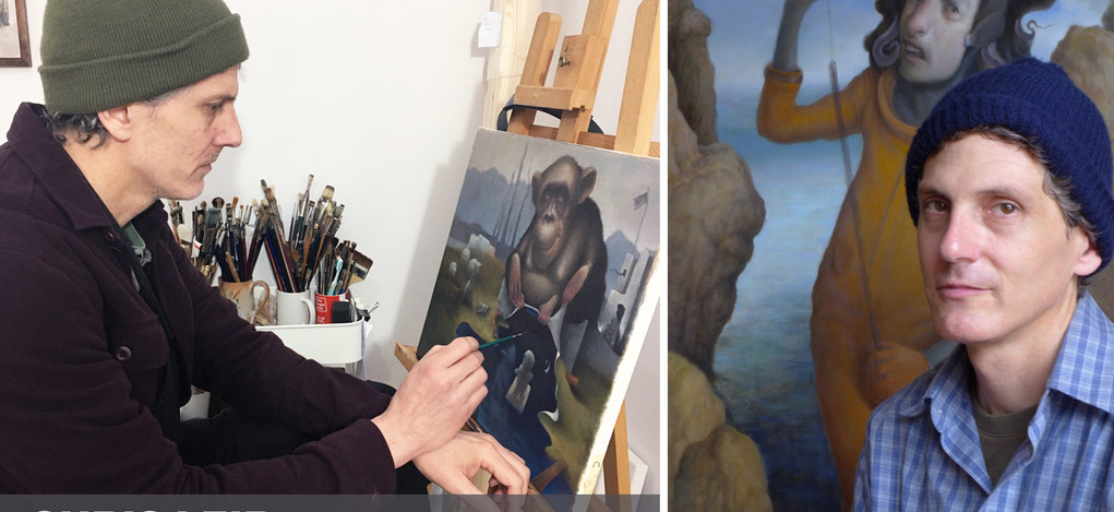 "Chris Leib is like all of us I imagine.  He has concerns for the health of friends, family and himself.  We all have people we must take care of and those responsibilities don't vanish when confronted with such an unprecedented reality.  As we collectively endure this pandemic we find ourselves on either side of realism, trying to dissect truth and understand what is next.  Leib's work is a constant examination of our affect on the planet.  His desire for us is that we may reflect on this time and perhaps ""a better future can await the world""."