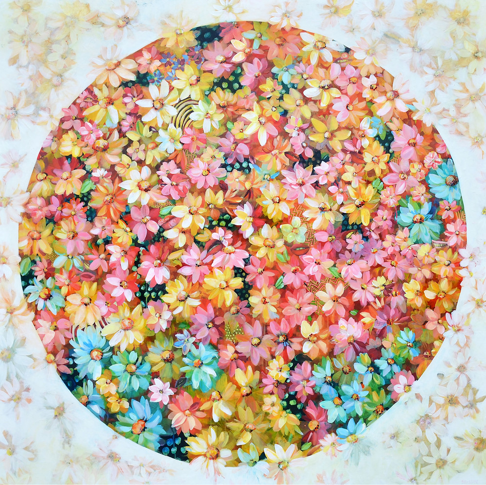 Show opens May 5th at Hall Spassov Gallery Flower Moon | 48in x 48in
