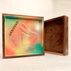 GRADIENT BUNNY BOX