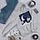 Thumbnail: Sweatshirt Unisex Hoodie - Claire de lune