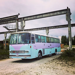 Le bus après les travaux.