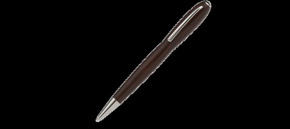 platinierte Metallelemente satiniertes Grenadill Holz  975,- €