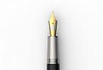 fountain pen gold nibs. jan zander design