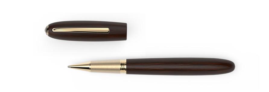 vergoldete Metallelemente satiniertes Grenadill Holz  1.275,- €