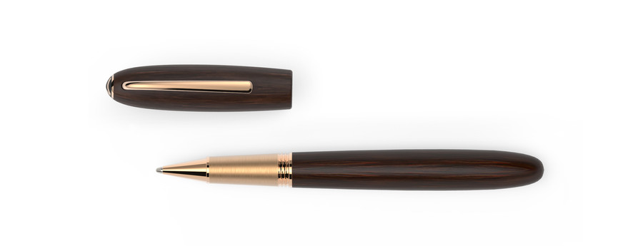 rose gold plated fittings satined Grenadilla wood  1.275,- €