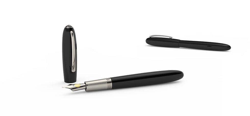 alter ego series, handmade pens, jan zander design, montblanc designer