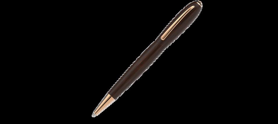 vergoldete Metallelemente satiniertes Grenadill Holz  975,- €