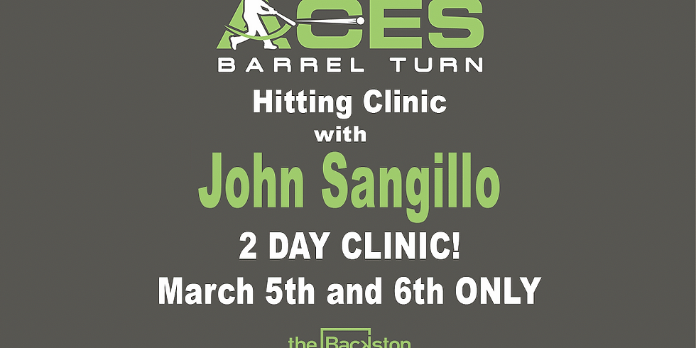 John Sangillo Softball Hitting Clinic